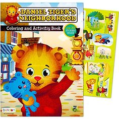 Daniel Tiger Coloring and Activity Book with Stickers * See this great product. Note:It is Affiliate Link to Amazon.