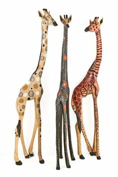 Wholesale Fair Trade Handmade African Sculpture and Art African Wood Carving African Interior, African Home Decor, Giraffe Decor, Giraffe Art, African Room, Safari Home Decor, Animals Beautiful, Cute Animals, Jungle Animals
