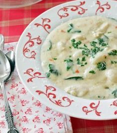 Italian Chicken and Dumpling Soup | RecipeLion.com