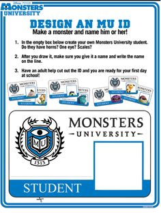 monsters university coloring pages | Disney's Monsters University Activity Sheets! | Real Reviews by Savvy ...