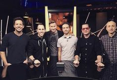 Simple Plan and Patrick Langlois