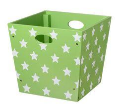 Kids Concept Spielzeugbox zur Aufbewahrung STAR in grün 122004