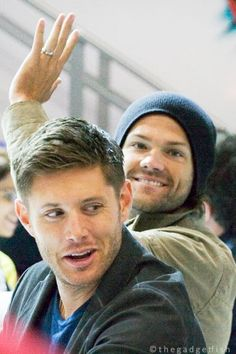 Jensen and Jared...just adorable!