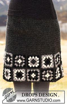 crochet skirt pattern free via 20 Popular Free #Crochet Skirt Patterns for Women