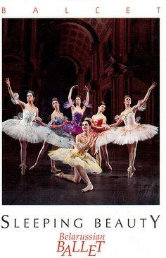 Sleeping Beauty by the Belarussian Ballet.  Card sent by Postcrosser in Belarus. (Postcrossing BY-473044)