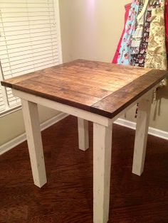 18 Ideas kitchen table high top furniture for 2020 Kitchen Table Redo, High Top Table Kitchen, High Dining Table, High Top Tables, Table And Chairs, Kitchen Decor, Table Bench, Kitchen Ideas, Kitchen Design