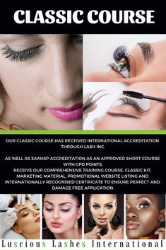 Short Courses, Training Schedule, Training Courses, Marketing Materials, Lashes, Promotion, Classic, Derby, Eyelashes