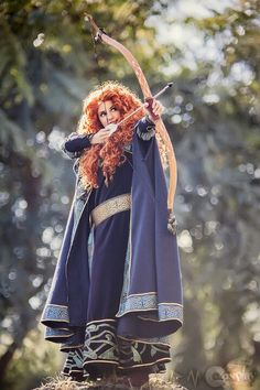 This is BEAUTIFUL. I feel like Merida is the princess I always imagined myself as... except I mixed her with some of the other princes.