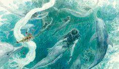 The Little Mermaid - Anton Lomaev