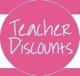 GREAT Teacher discounts