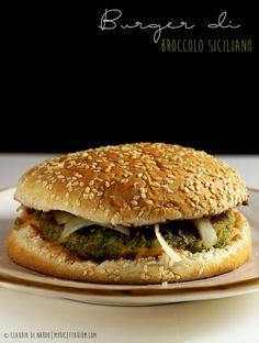 My Ricettarium: Burger di broccolo siciliano