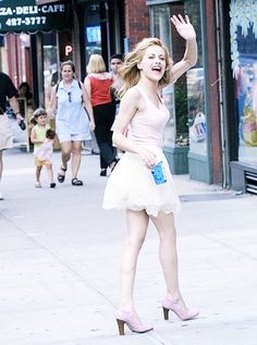 Brittany Murphy on set from Uptown Girls, in NYC | 2003