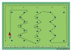 Dribbling drills in soccer are fundamental for the development of every soccer…