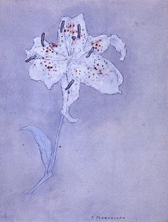 Piet Mondrian Flowers | tumblr_inline_n8s29wKCjQ1rrmc50.gif