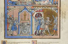 Picture Bible, MS M.638 fol. 35r - Images from Medieval and Renaissance Manuscripts - The Morgan Library & Museum