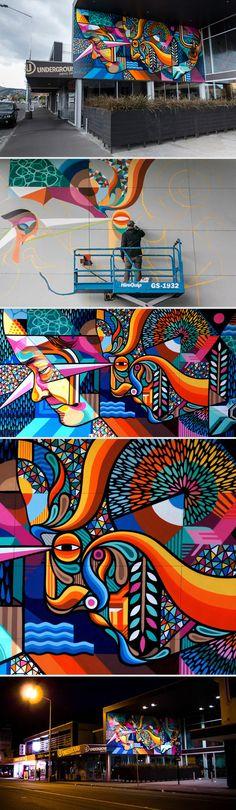 Rise Festival - Beastman Graffiti
