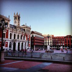 La plaza mayor de Valladolid... Como le echo de menos!!!