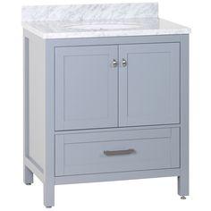 """Zenith 30"""" Single Bathroom Vanity Set"""