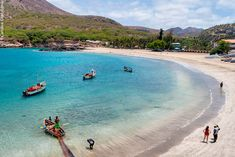 Tarrafal, Santiago, Cape Verde - The most beautiful beach in Africa, by Caroline Granycome Winter Sun Destinations, Le Cap, Cape Verde, Adventure Photography, Most Beautiful Beaches, Summer Pictures, Africa Travel, Island Life, Beach Trip