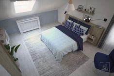 Skandynawska sypialnia na poddaszu. – ALPRA Soho, Bed, Furniture, Home Decor, Decoration Home, Stream Bed, Room Decor, Small Home Offices, Home Furnishings