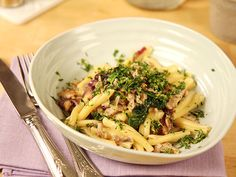 Sommarpasta med kyckling och gremolata | Recept från Köket.se pasta