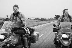 """""""Long Way Round"""" - Ewan McGregor & Charley Boorman. Travel series. Amazing story of adventure and friendship ."""
