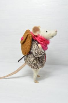 I almost can't stand how cute these little mice are!