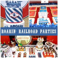 Roarin' Fun Railroad Party Ideas | Spoonful