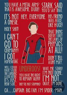 Spiderman for life! marvel (i love peter parker) мстители, Marvel Fanart, Marvel E Dc, Marvel Heroes, Captain Marvel, Marvel Jokes, Marvel Funny, Avengers Quotes, The Avengers, Loki Quotes