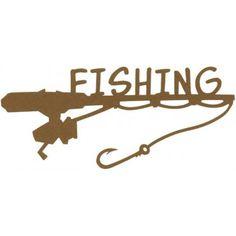 Fishing Cardstock Laser Die-Cuts SDC-1016 - Embellishments