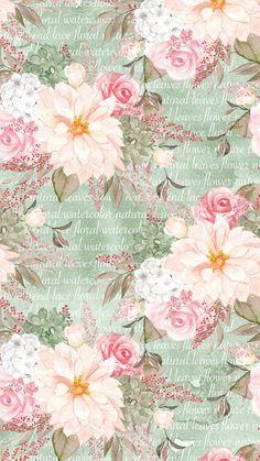 Decoupage Vintage, Decoupage Paper, Vintage Paper, Decoupage Printables, Printable Scrapbook Paper, Cute Wallpapers, Wallpaper Backgrounds, Wallpaper Iphone Disney, Floral Vintage