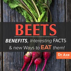 Whether you are someone who already loves beets and consumes them regularly, or you're new to beets and hesitant about beginning to cook with them more, there are plenty of great reasons ....