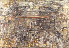 Vieira da Silva Landgrave,1966 Oil on Canvas