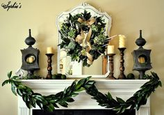 A few weeks ago, I shared my garden-inspired Christmas mantel with my handmade magnolia garland and I promised I'd share how to make one w...