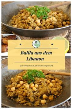 Balila aus dem Libanon - Another! A Food, Good Food, Food And Drink, Yummy Food, Naan, Wine Recipes, Great Recipes, Low Calorie Recipes, Healthy Recipes