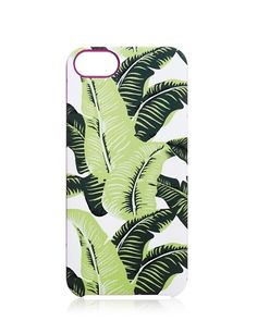 palm leaf iphone 5 case / juicy couture