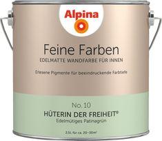 Feine Farben, die Premium-Wandfarben in 32 Farbnuancen: Alpina Farben