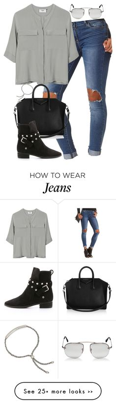 """Untitled #4722"" by eleanorsclosettt on Polyvore featuring Charlotte Russe, PYRUS, Givenchy, See by Chloé, Prada and Monica Vinader"