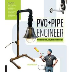 """Read """"PVC and Pipe Engineer Put Together Cool, Easy, Maker-Friendly Stuff"""" by Mr. Jordan Bunker available from Rakuten Kobo. **Build a bunkbed in the morning and a water blaster in the afternoon, with PVC and Pipe Engineer, even advanced project. Building A Bunker, The Crawl, Pvc Projects, 22 November, Iron Pipe, Design Furniture, Pvc Pipe Furniture, Furniture Ideas, Outdoor Furniture"""