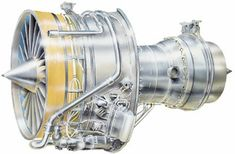 Diagram of the Rolls-Royce RB211-535 turbofan