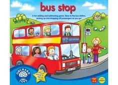 Bus stop - sčítání a odčítání - společenská hra