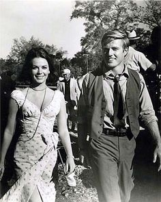 Natalie Wood & Robert Redford