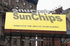 SunChips billboard: