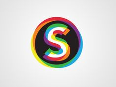 Lovely, dizzying S. Identity concept for an oral surgeon: Spectrum Oral Surgery. By Stuart Laybourne, via dribbble.