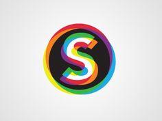 graphic, colorful logo, colors, color logo, logos design, color blind, inspir, brand, typographi
