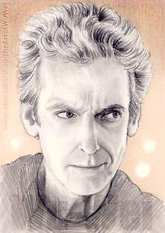 Peter Capaldi miniature by whu-wei.deviantart.com on @DeviantArt