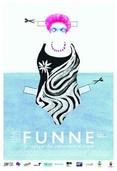 Poster Funne - Le ragazze che sognavano il mare
