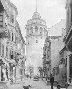 ✿ ❤ Bir Zamanlar İSTANBUL,  Galata Kulesi...