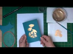 ▶ ‪Painting with Mica Powders (card-making-magic.com)‬‏ - YouTube