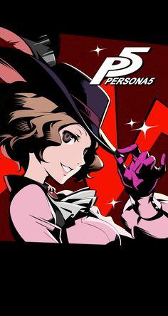 Persona 5 - Haru Okumura Wallpaper